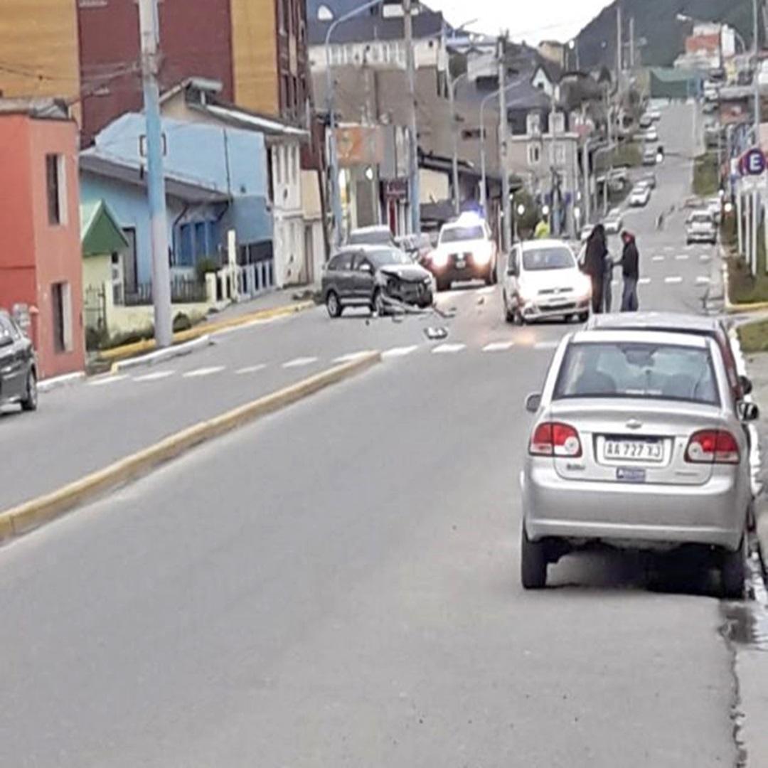 Choque en Magallanes y 9 de Julio