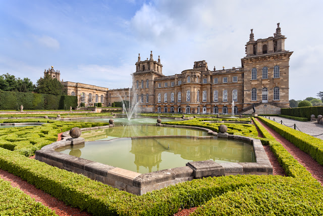 The water gardens at Blenheim Palace by Martyn Ferry Photography
