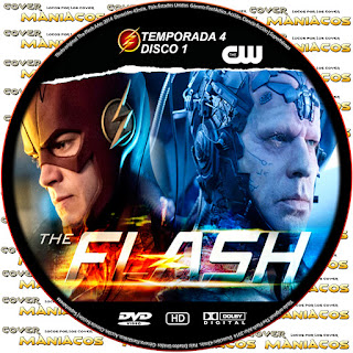 GALLETA SERIE THE CW - THE FLASH 2017 TEMPORADA 4