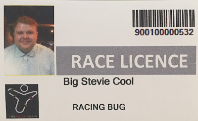 Lane 7: Racing rig Race Licence