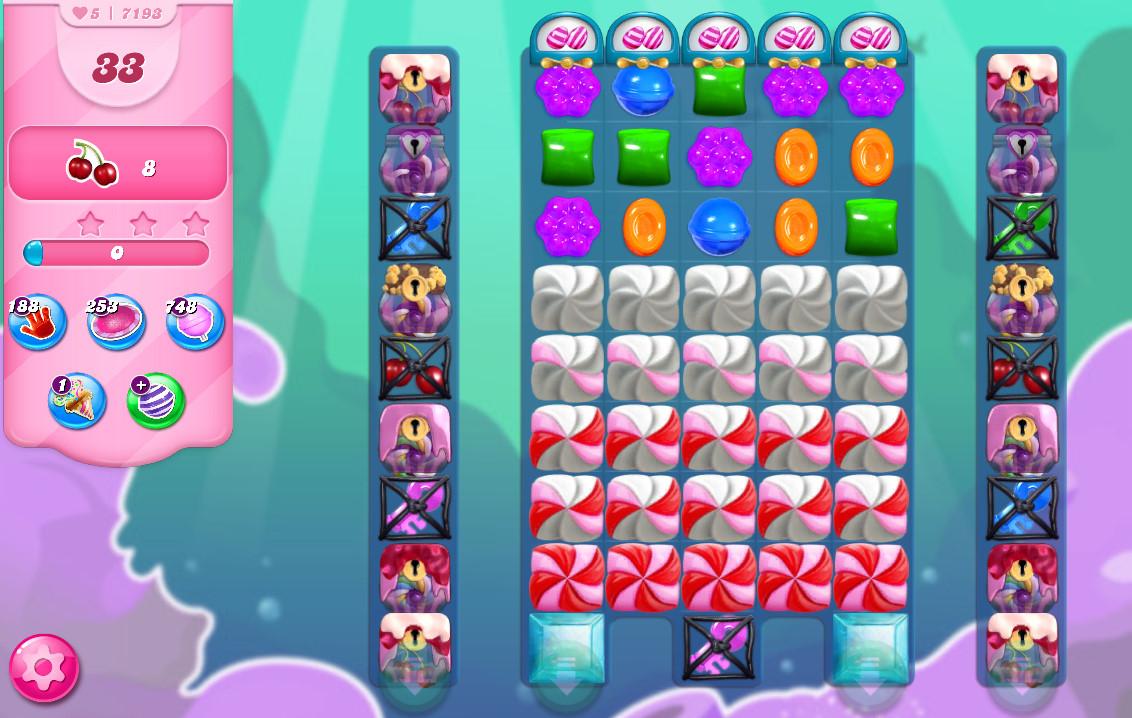 Candy Crush Saga level 7193