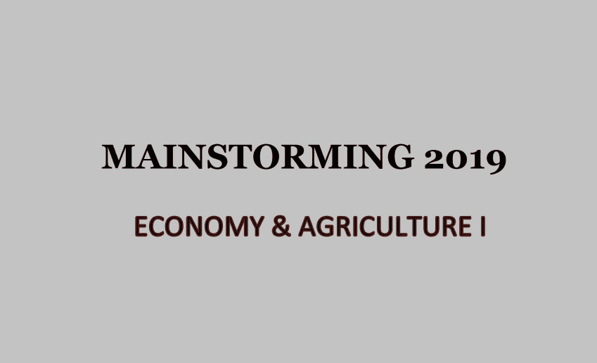 Economy and Agriculture I - Download pdf