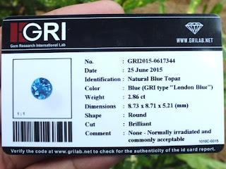 GRI Certificate