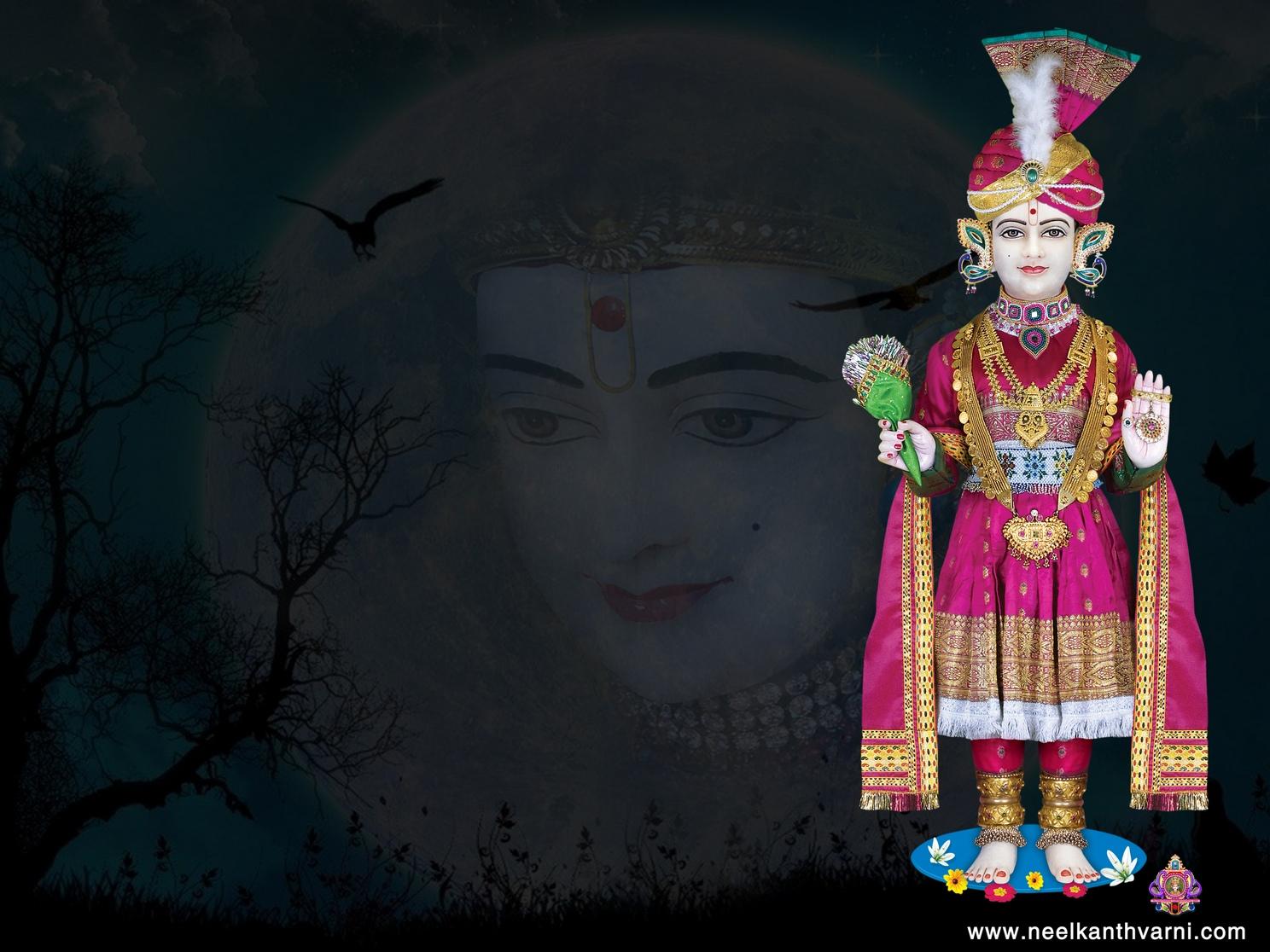 Pramukh Swami 3d Wallpaper Jay Swaminarayan Wallpapers Ghanshyam Maharaj Wallpaper