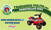 Logo Traguardo Pulito con Chanteclair Vert: vinci 62 Mini Quad Biemme