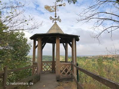 Aussichtspavillon Hoher Kleef in Rübeland