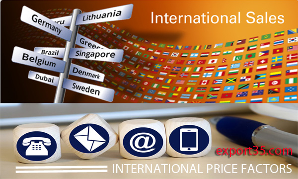 export import database: INTERNATIONAL PRICE FACTORS
