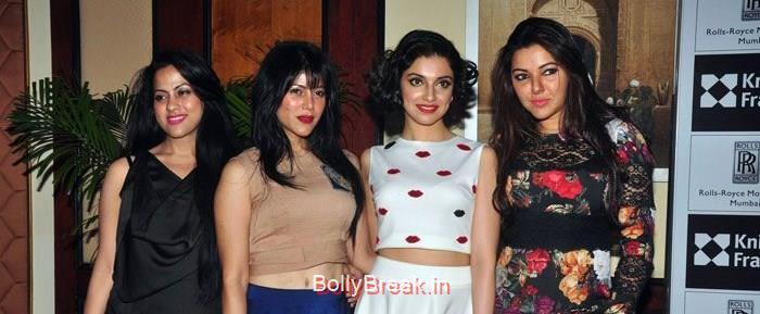 Bollywood Celebs at Anmol Jewellers show Era of Design, Hot HD Pics of Divya Khosla Kumar and Tisca Chopra at Anmol Jewellers show Era of Design