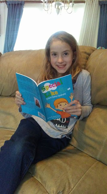 """Special Like Me"" Ehlers Danlos Syndrome EDS Awareness book for kids"