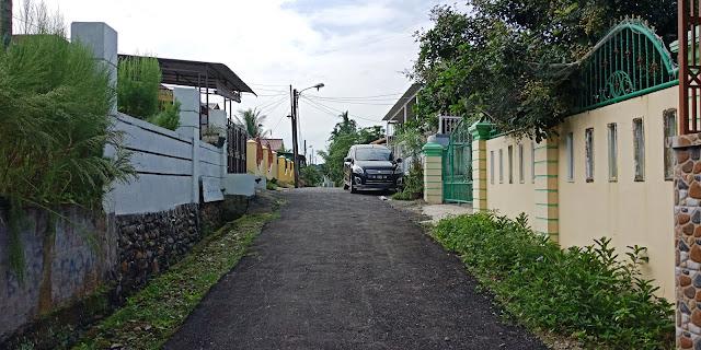 Lebar Jalan Di Depan Rumah Murah Dijual Di Jl Flamboyan 8 Dekat Pajak Melati Medan Sumatera Utara