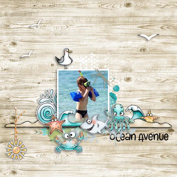 ocean avenue © sylvia • sro 2018 • ocean avenue by fayette designs