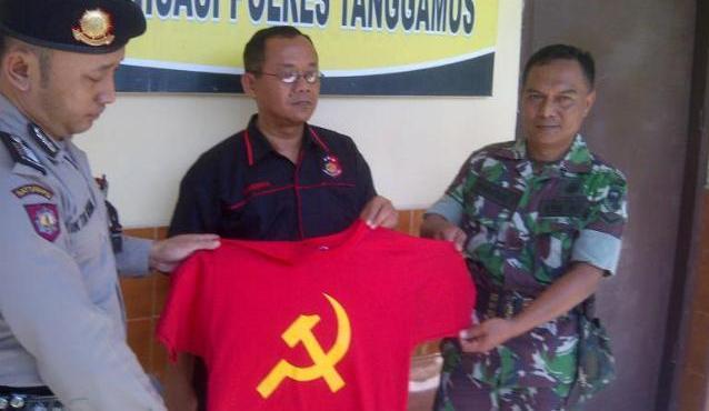 Pakai Kaus Palu Arit, Pengunjung Pameran Expo Jogja Ditangkap