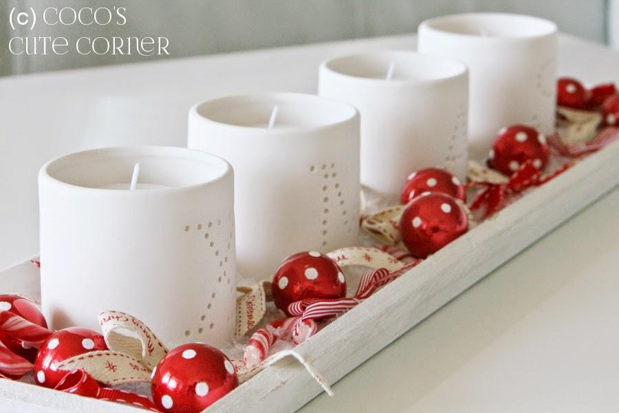 coco 39 s cute corner adventskranz schleifen so weit das auge reicht. Black Bedroom Furniture Sets. Home Design Ideas