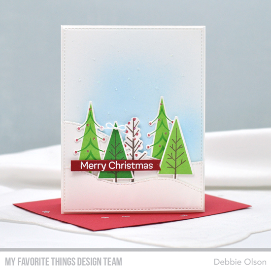 Handmade card by Debbie Olson featuring productd from My Favorite Things #mftstamps