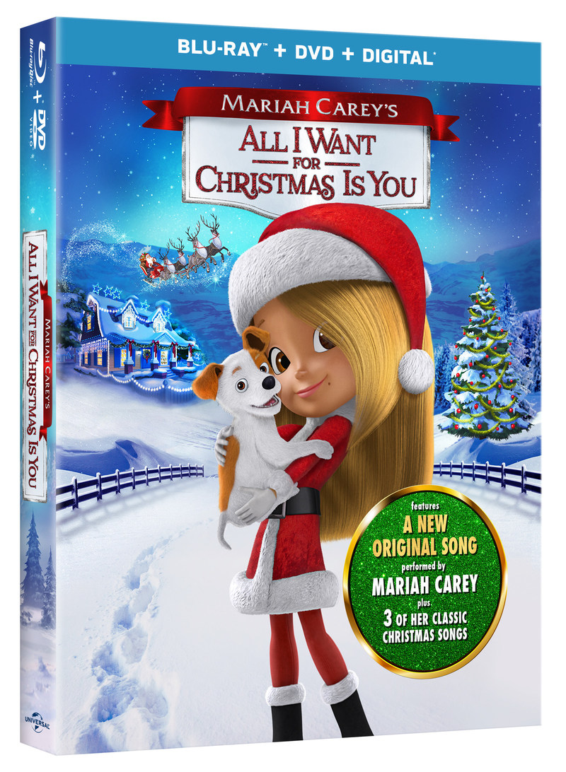 Contest: Win One of 10 Blu-ray DVD Copies of Mariah Carey\'s All I ...