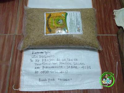 Benih pesanan USA SUSANTO, Purwakarta, Jabar   (Sebelum Packing)