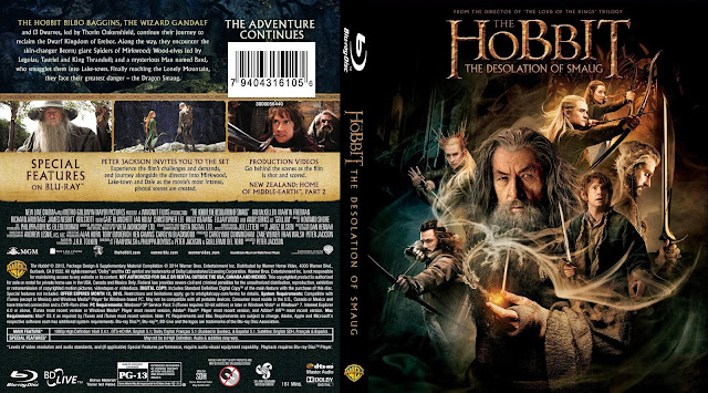Capa Bluray The Hobbit The Desolation Of Smaug