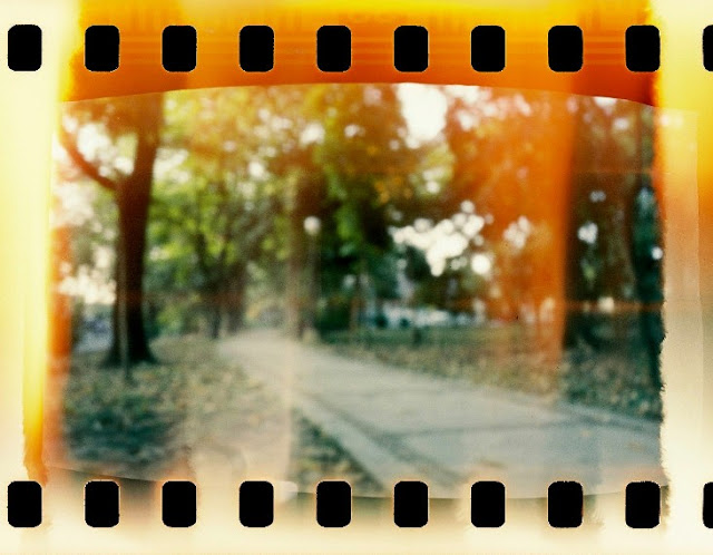 DIY pinhole camera, Lucky 200 film.