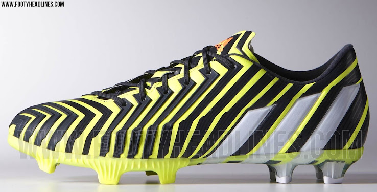 nouvelle collection 720b0 5bda9 Yellow / Black Adidas Predator Instinct 2015 Boots Colorway ...