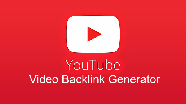 Youtube video backlink generator tool [FREE]