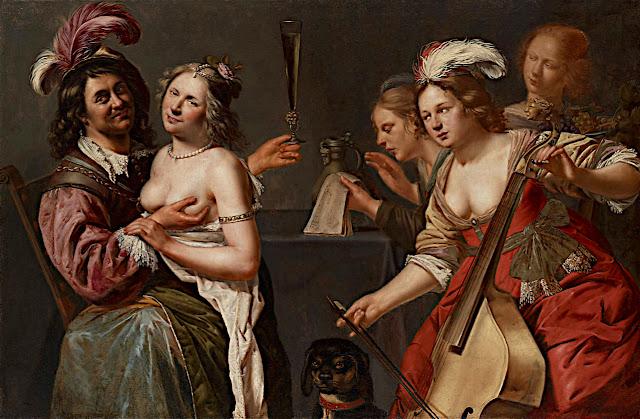 Johannes Baeck: Il figliol prodigo con le prostitute