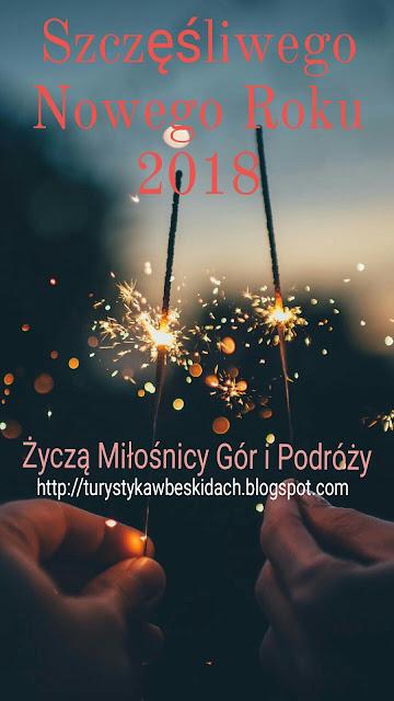 Życzenia na Nowy Rok 2018 od Miłośników Gór i Podróży