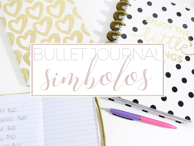 Bullet Journal: símbolos
