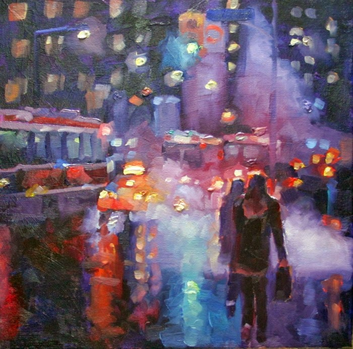 Городскими пейзажи. Catherine Jeffrey