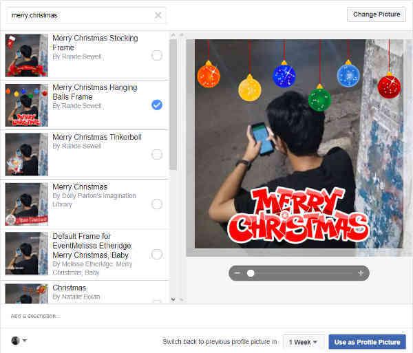Cara Membuat Foto Profil Natal Merry Christmas