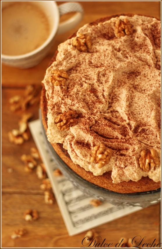 Orechovo kávová torta (bez múky)