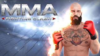 تحميل لعبة MMA Fighting Clash نقود لاتنتهي للاندرويد