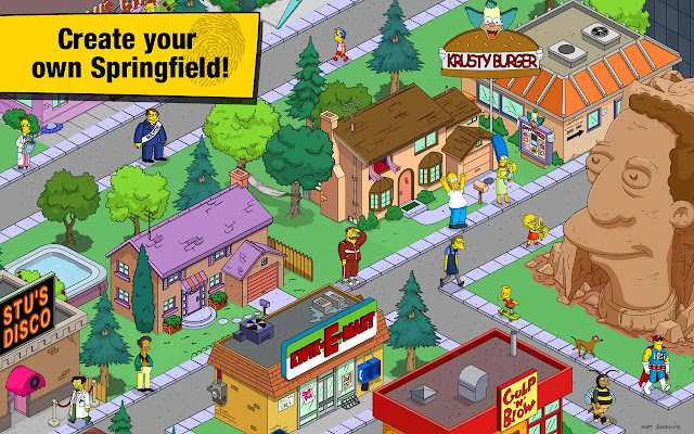 the simpsons tapped out mod apk indir