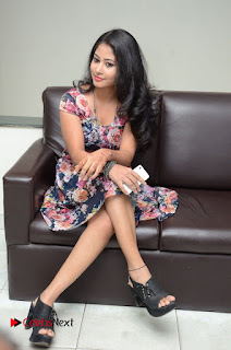 Actress Chinmayi Pictures in Floral Short Dress  0063.JPG