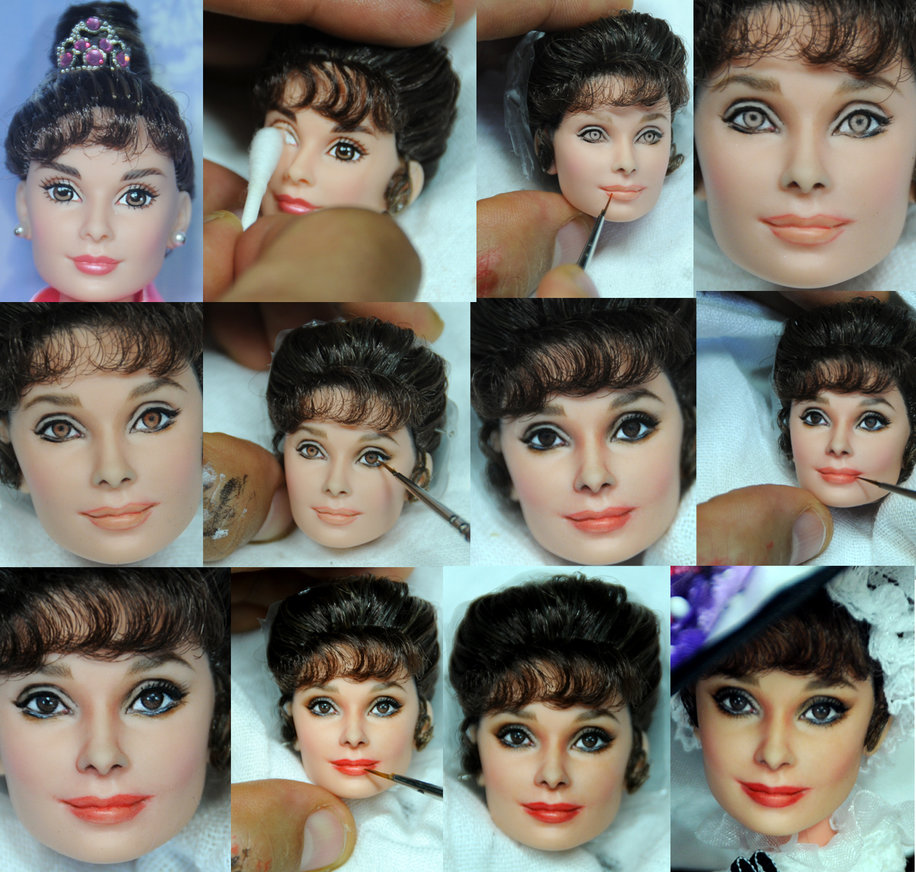 16-My-Fair-Lady-Audrey-Hepburn-Noel-Cruz-Hyper-Realistic-Make-up-on-small-Dolls-www-designstack-co