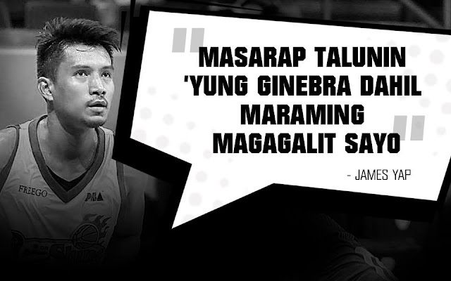 LOOK: James Yap list of statements to Ginebra on their SEMIS battle