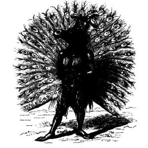 Goetia - Andrealphus (ilustração)