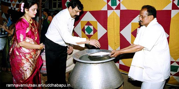 bapu-making-handiprasad