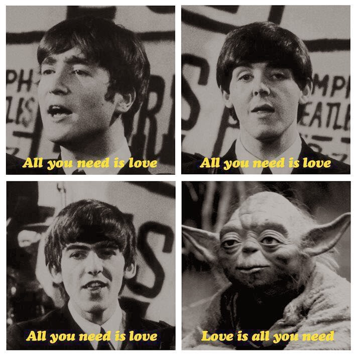 Meme de Humor : The Beatles feat Maestro Yoda