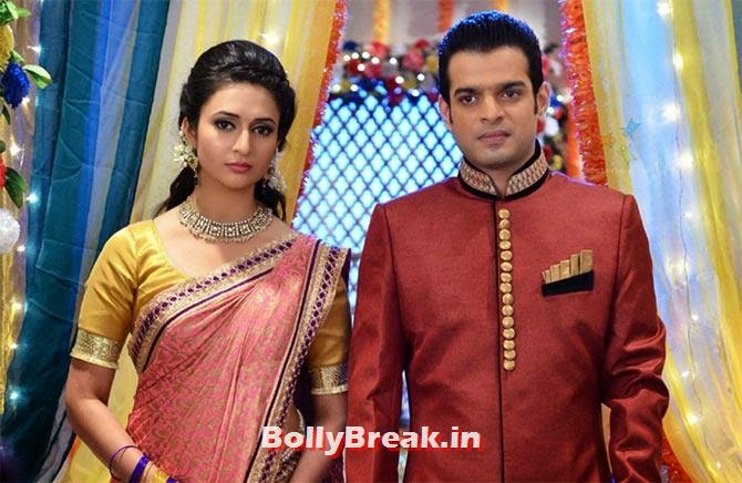 Divyanka Tripati and Karan Patel in Yeh Hai Mohabattein, Top 10 TV Shows 2014, Serials in Indian