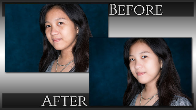 "How To Create Glamour ""Skin Glow"" Look - Before & After, © Exodist Photography"