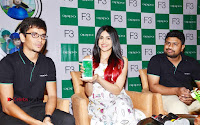 Bollywood Actress Adah Sharma Pos in White Printed Short Dress at OPPO F3 Plus Selfie Expert Mobile Launch .COM 0085.jpg