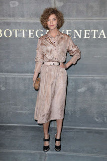 Arizona Muse At Bottega Veneta Show At New York Fashion Week 2018
