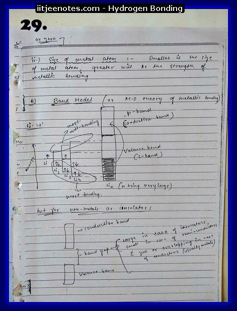 Hydrogen Bonding Notes15