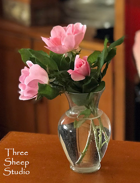 Pink 'Knock Out' Roses