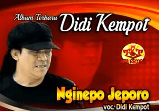 Lirik Lagu Nginepo Jeporo - Didi Kempot
