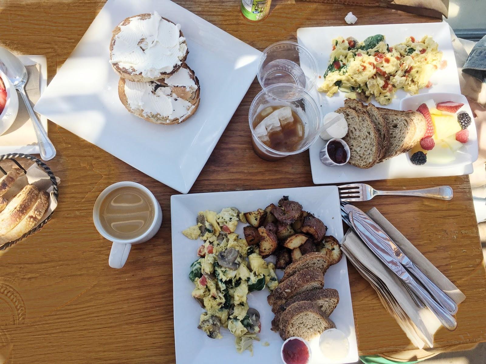 Caroline's Seaside Breakfast