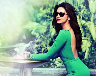 Model Rambut Panjang Deepika Padukone