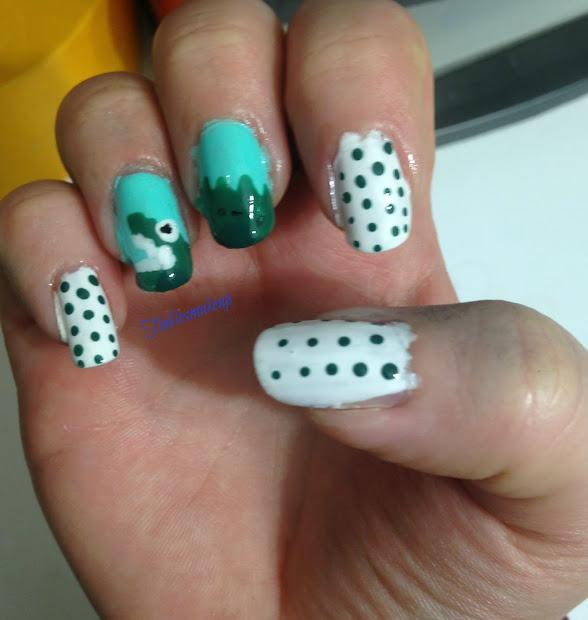 crocodile nail art
