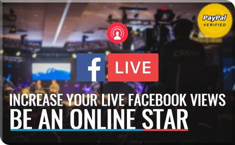 Buy More Facebook Live Stream Views