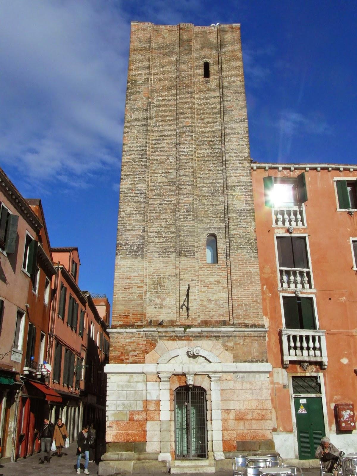 The bell tower, or campanile, Santa Margarita, Venice